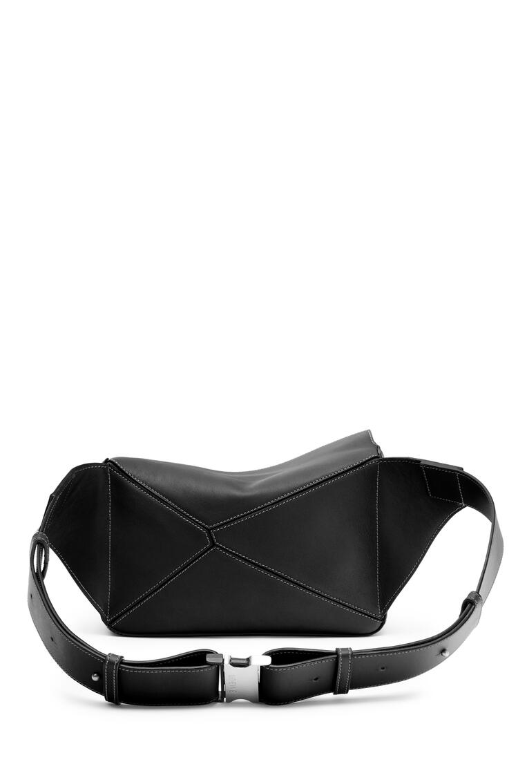 LOEWE Small Puzzle Bumbag in smooth calfskin Black pdp_rd