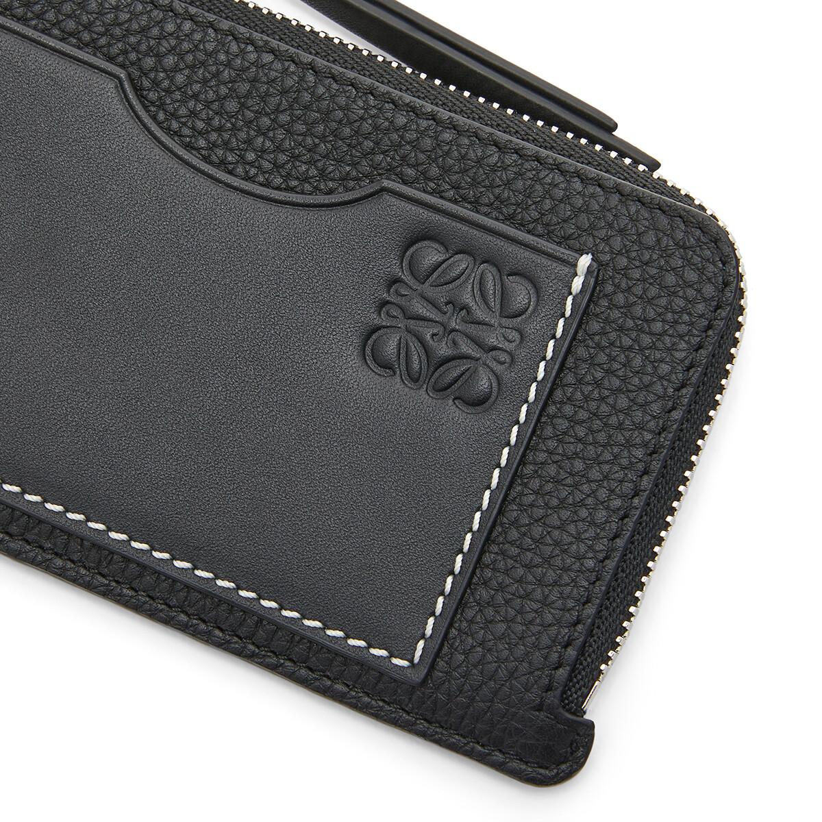 LOEWE Coin Cardholder Black front