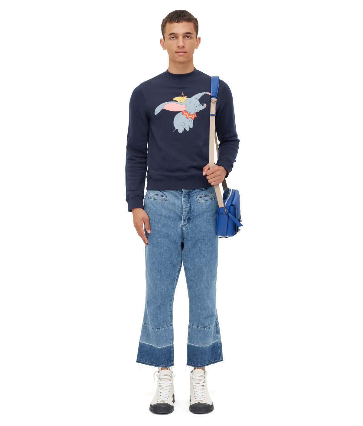 LOEWE Sweatshirt Dumbo Marino front