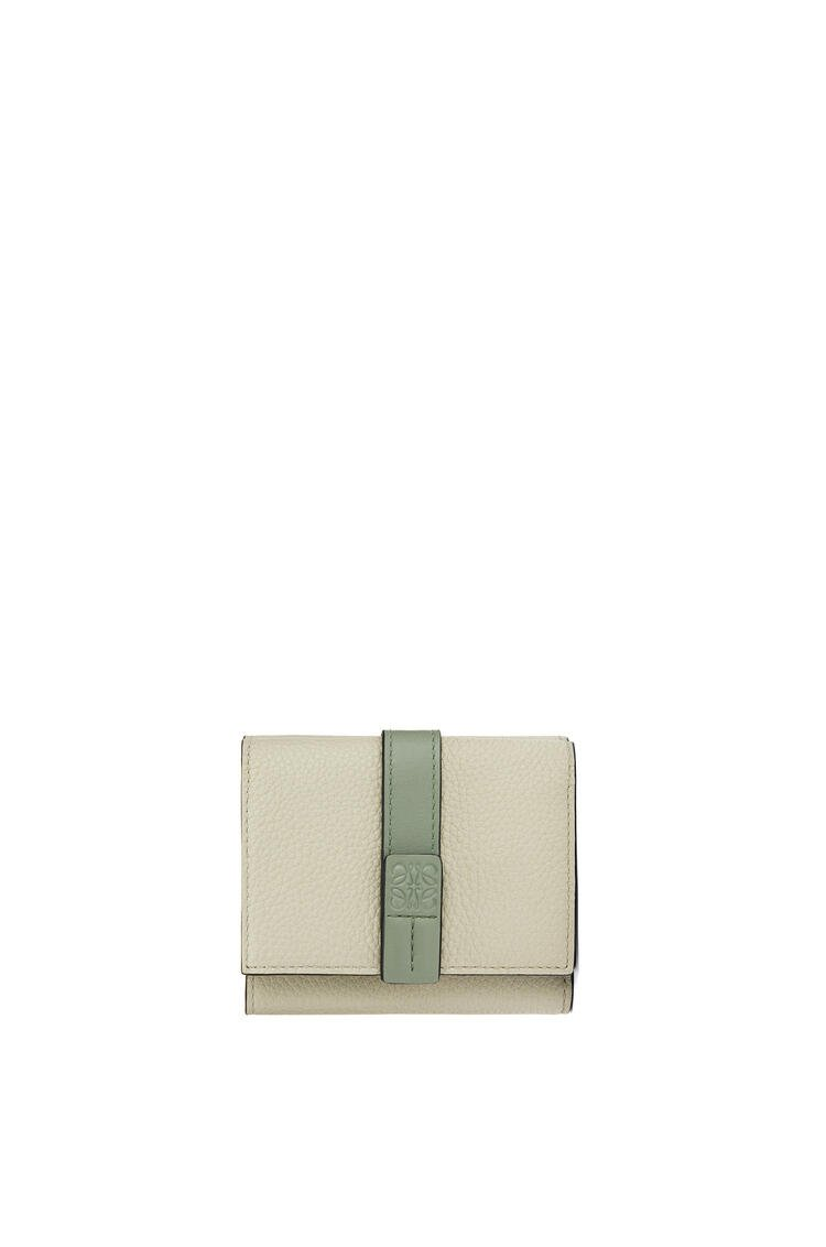 LOEWE Trifold wallet in soft grained calfskin Sage/Pale Green pdp_rd