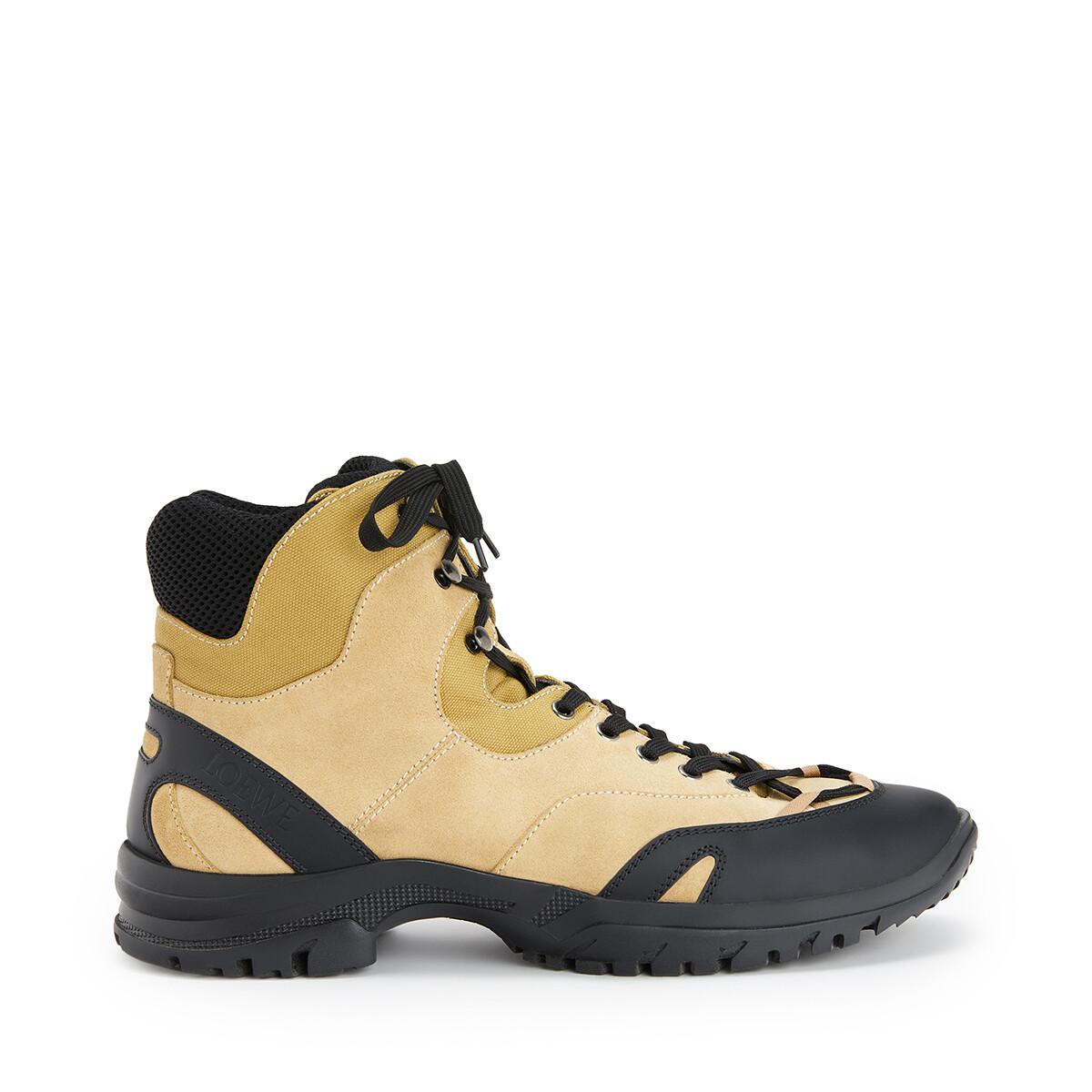 LOEWE Hiking Boot Eln Mustard front