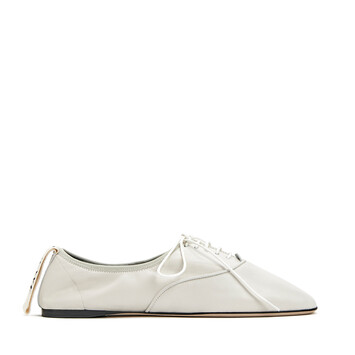 LOEWE Soft Derby Blanco Suave front