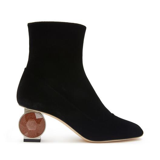 Strass Heel Boot 55