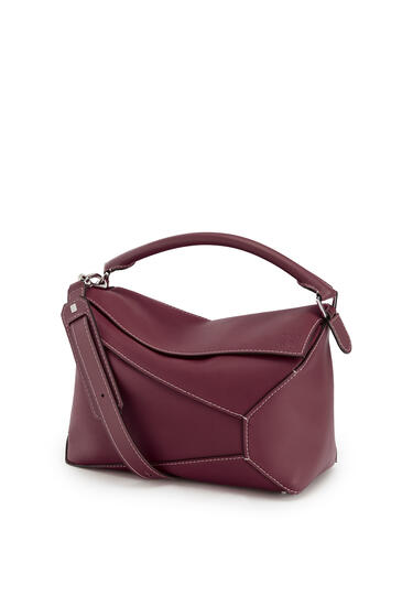 LOEWE Large Puzzle Edge bag in natural calfskin Wine pdp_rd