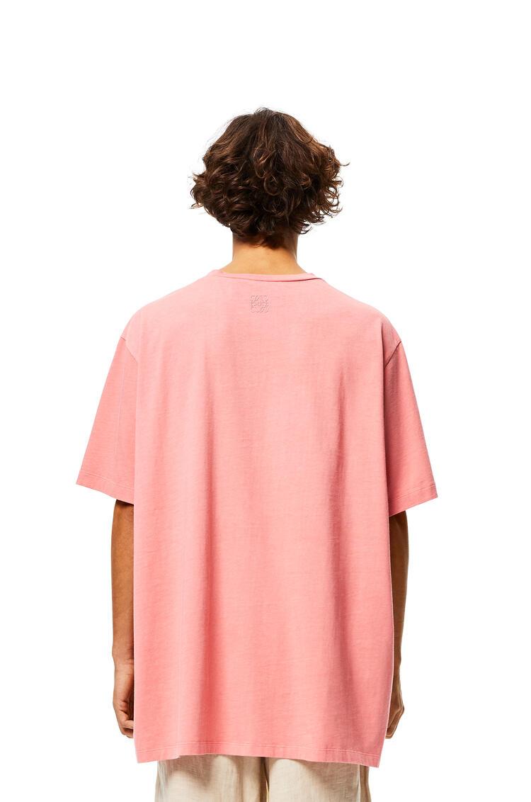 LOEWE オーバーサイズ Tシャツ (マーメイド コットン) ローズ pdp_rd