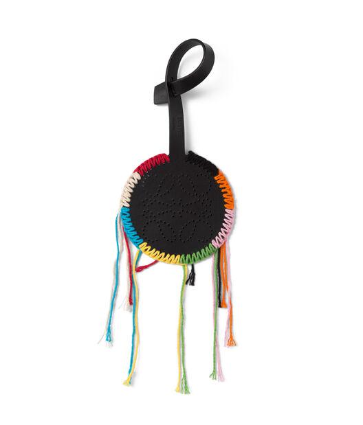 LOEWE Multicolor Macrame Charm Black/Multicolor all