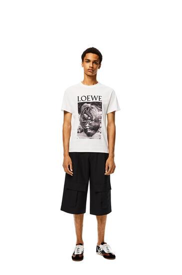 LOEWE Ken Heyman T-shirt In Cotton White pdp_rd