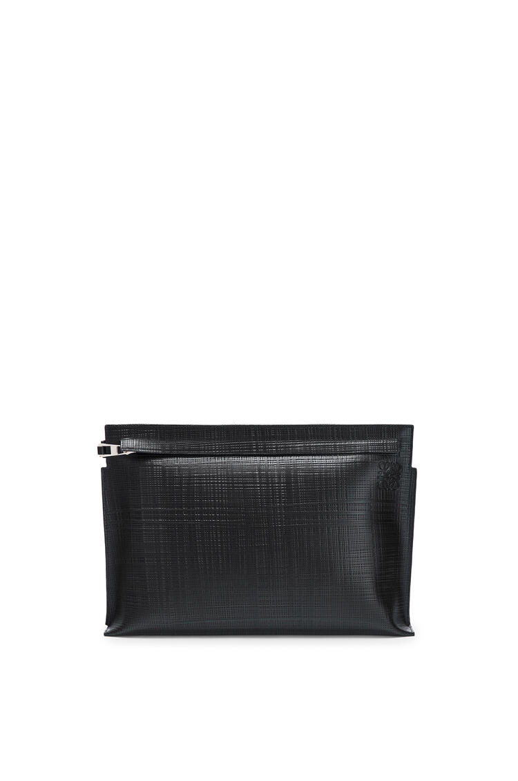 LOEWE T Pouch Linen Black pdp_rd