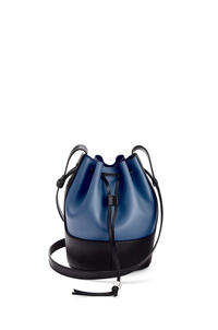 LOEWE Small Balloon bag in nappa calfskin Indigo Dye/Black pdp_rd