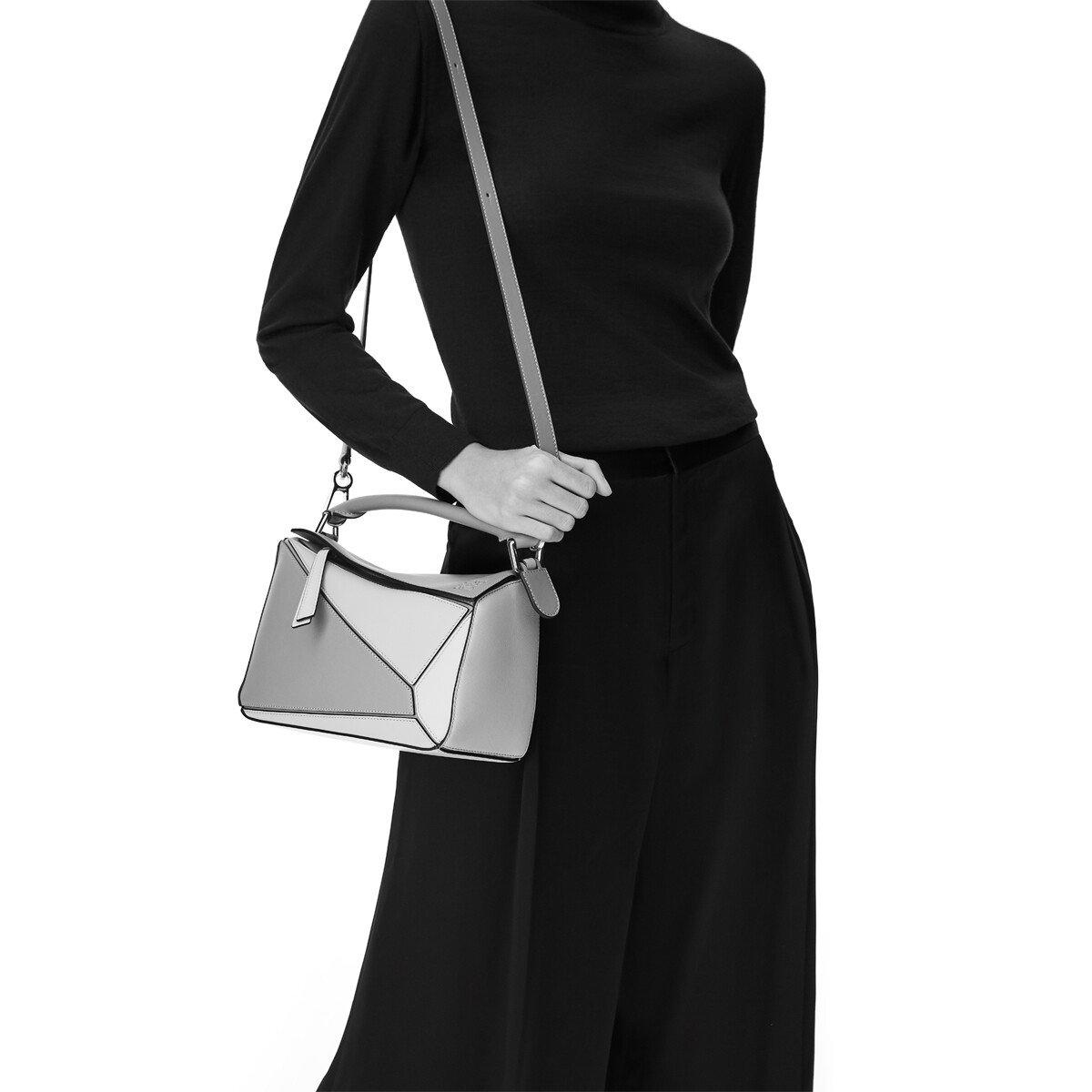 LOEWE Puzzle Small Bag Tan front