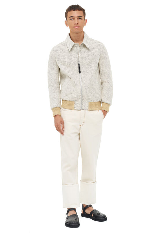 LOEWE Fisherman Jeans White front