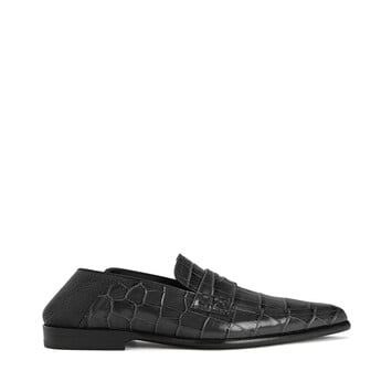 LOEWE Pointy Slip On Loafer Negro/Negro front