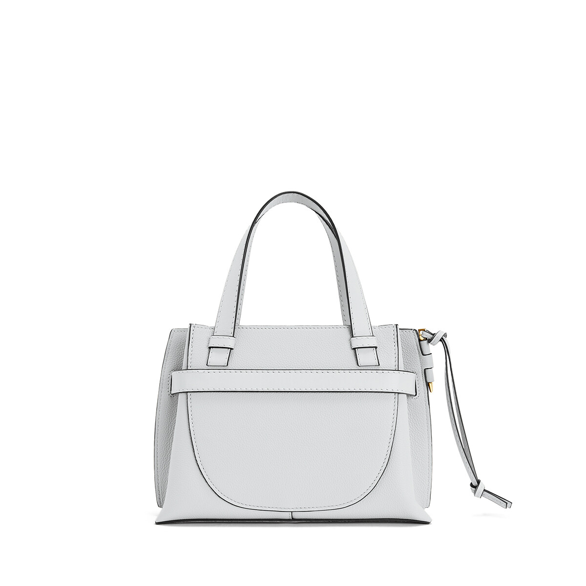 LOEWE Gate Top Handle Mini Kaolin front