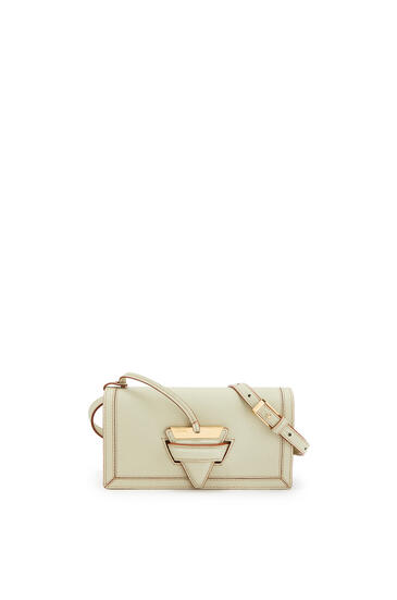 LOEWE Mini Barcelona soft bag in soft grained calfskin Sage pdp_rd