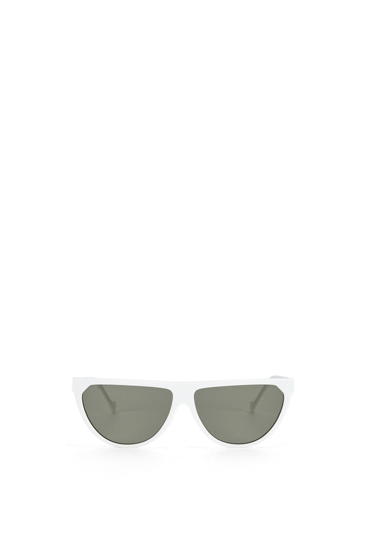LOEWE Pilot Sunglasses in acetate Off-white pdp_rd