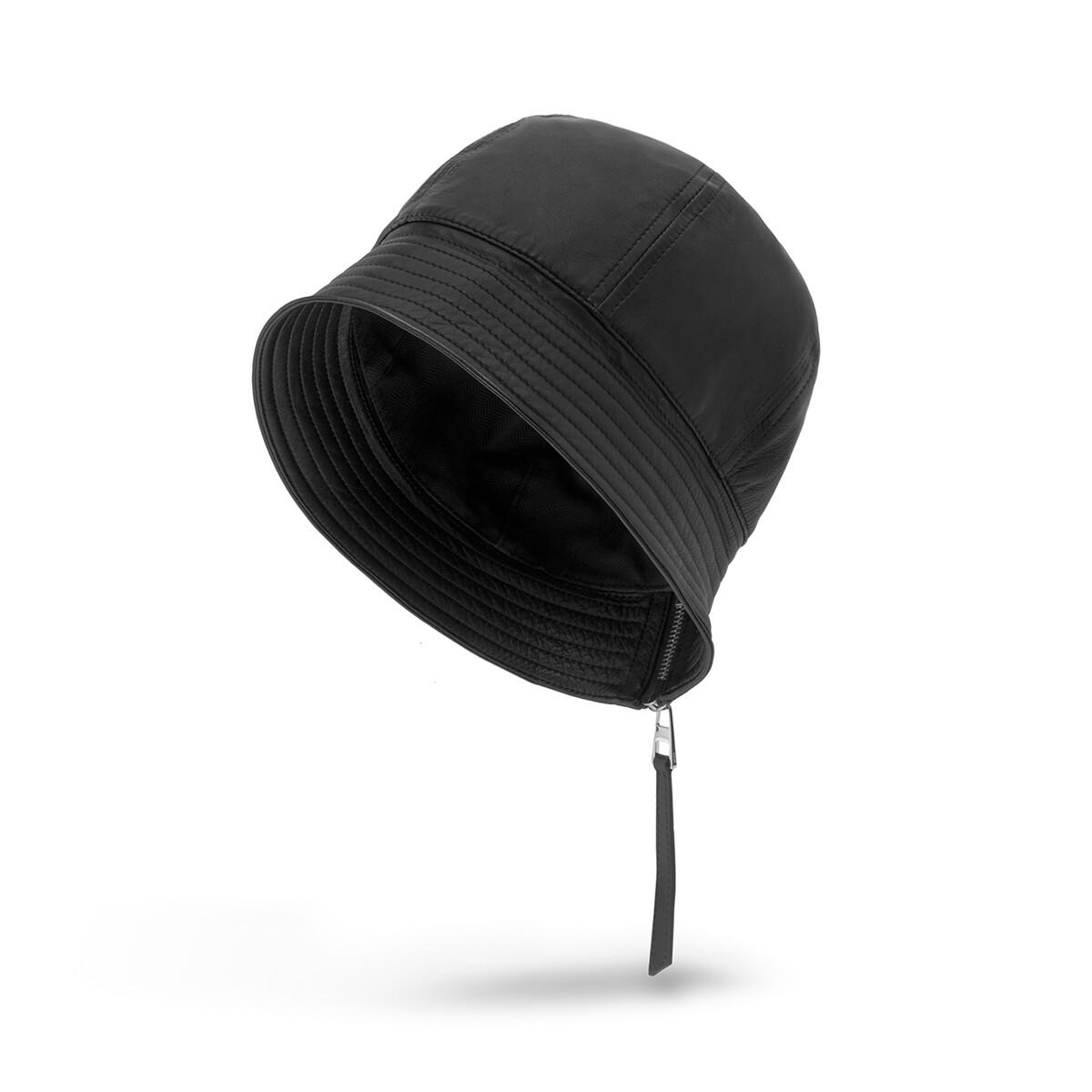 LOEWE Bucket Hat Black front