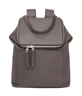 LOEWE Goya Backpack Dark Grey front