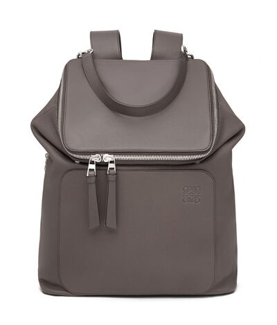 LOEWE Goya Backpack Dark Grey front