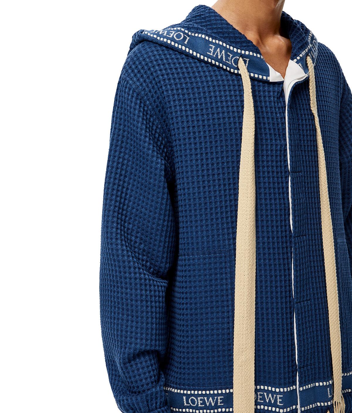 LOEWE Loewe Trim Hood Jacket 海军蓝 front