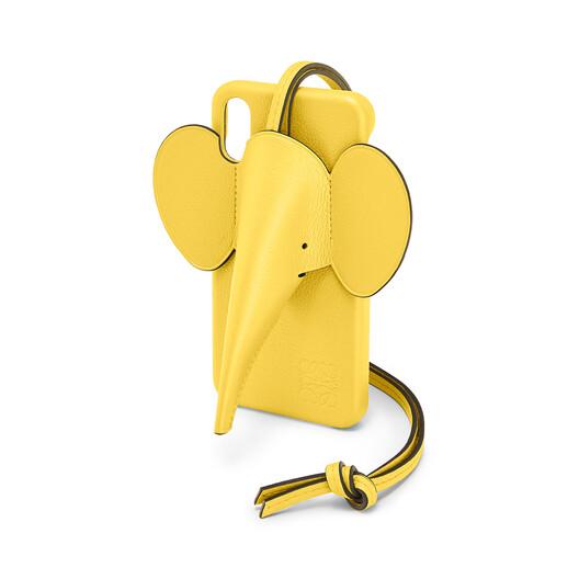 LOEWE 大象手机壳 X/XS 黄色 front
