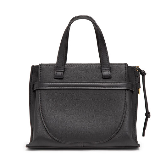 LOEWE Gate Top Handle Small Negro front