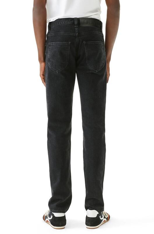 LOEWE 5 Pocket Jeans Black front