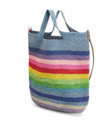 LOEWE Paula's Slit Rainbow Large Bag Multicolor front