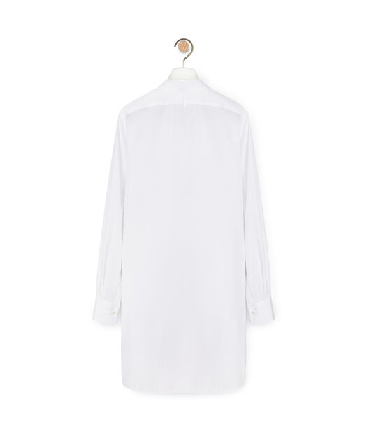 LOEWE Long Asymmetric Shirt Blanco all