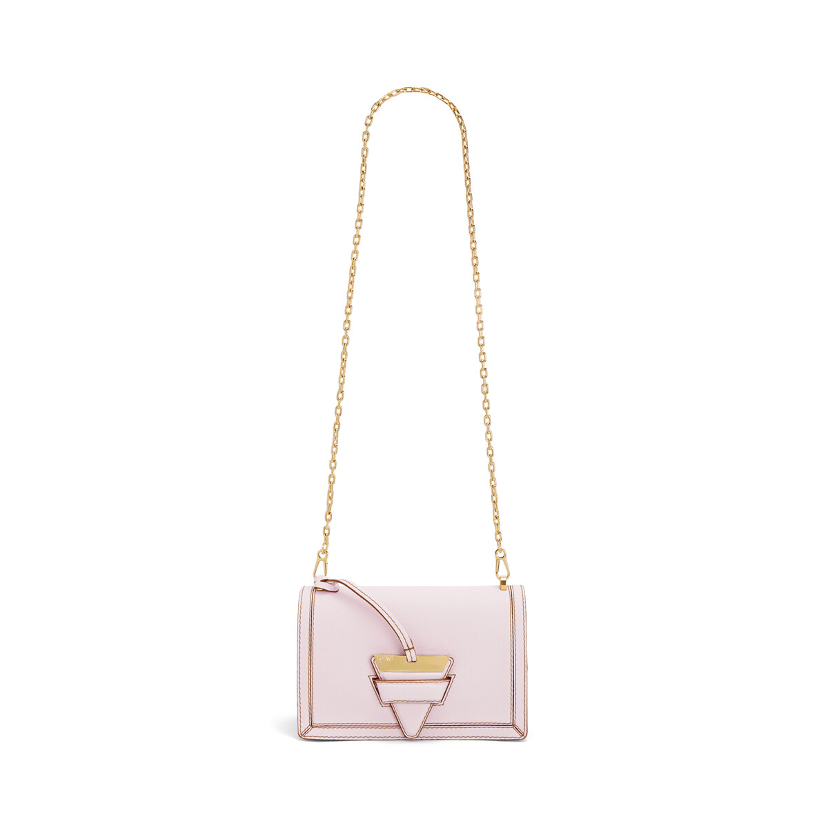 LOEWE Barcelona Soft Bag Icy Pink front