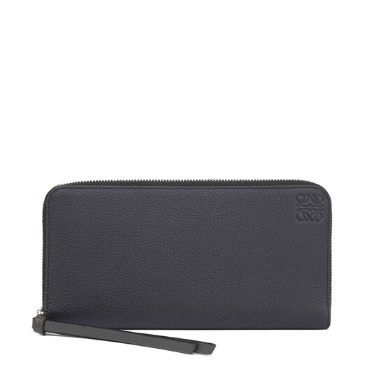 LOEWE Zip Around Wallet Midnight Blue/Black all