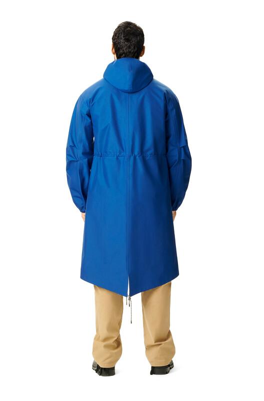LOEWE Eln Long Parka Blue front
