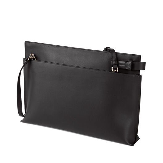 LOEWE T Pouch Bag Black all