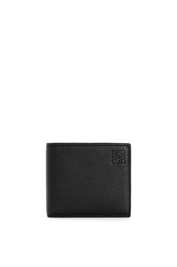 LOEWE Bifold wallet in soft grained calfskin Black pdp_rd
