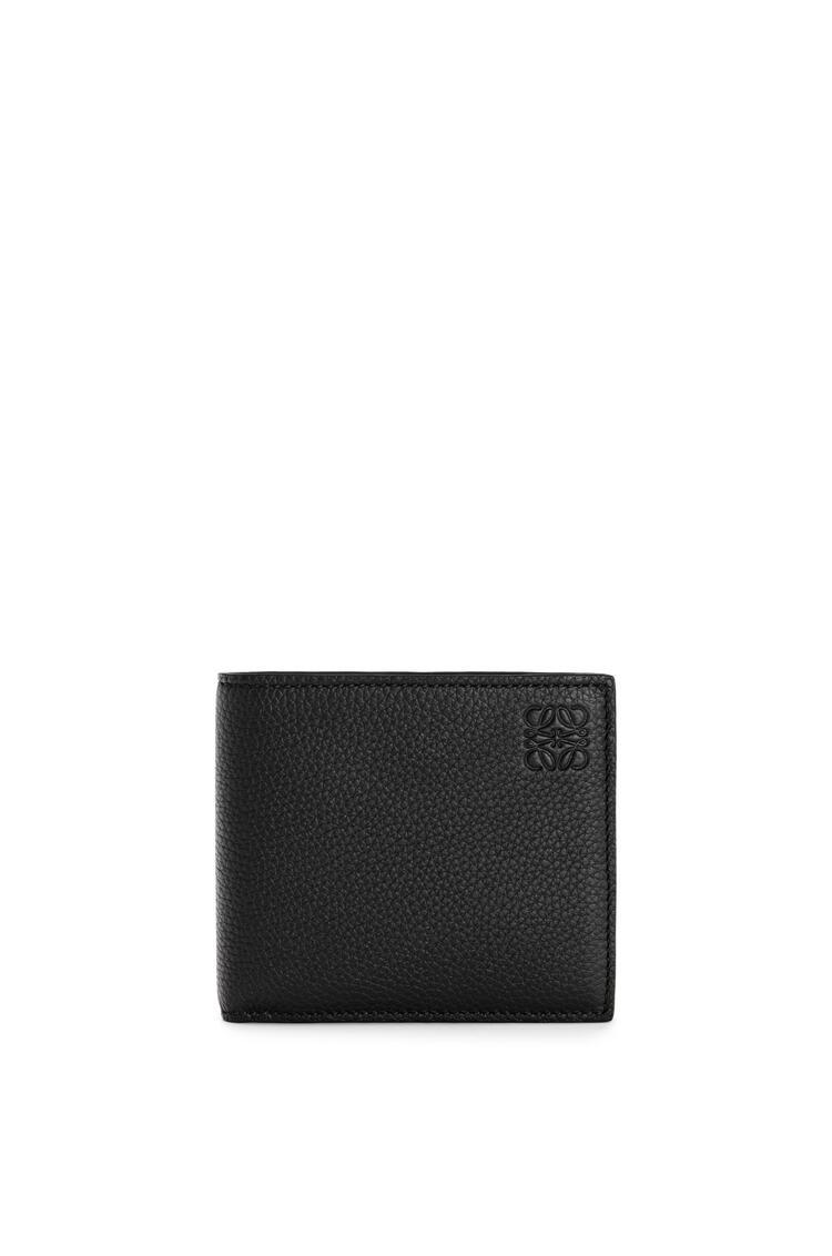 LOEWE Bifold wallet in soft grained calfskin Black pdp_rd