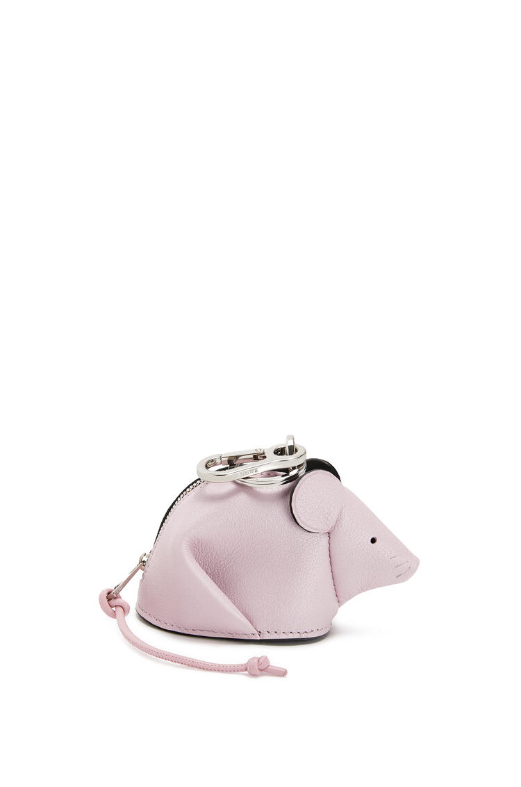 LOEWE Mouse Charm In Pearlized Calfskin Icy Pink/Candy pdp_rd