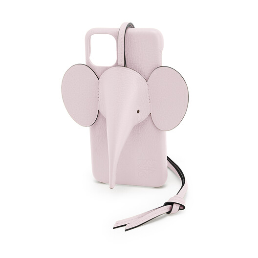 LOEWE Elephant Cover For Iphone 11 Pro Max Icy Pink front