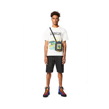 LOEWE Eye/Loewe/Nature Crossbody Bag Black front