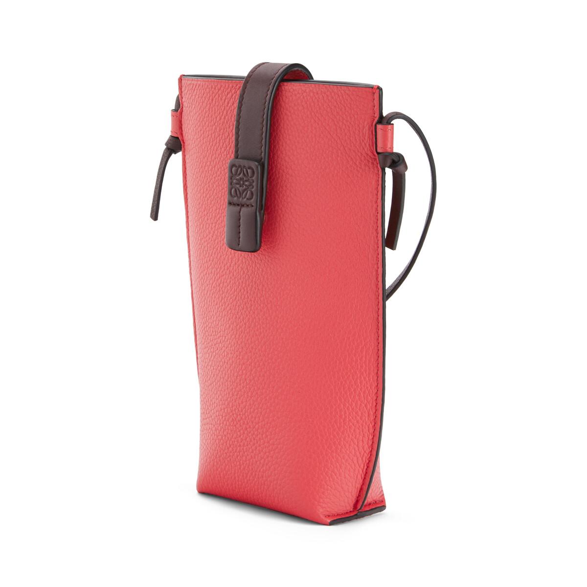 LOEWE Pocket Poppy Pink front
