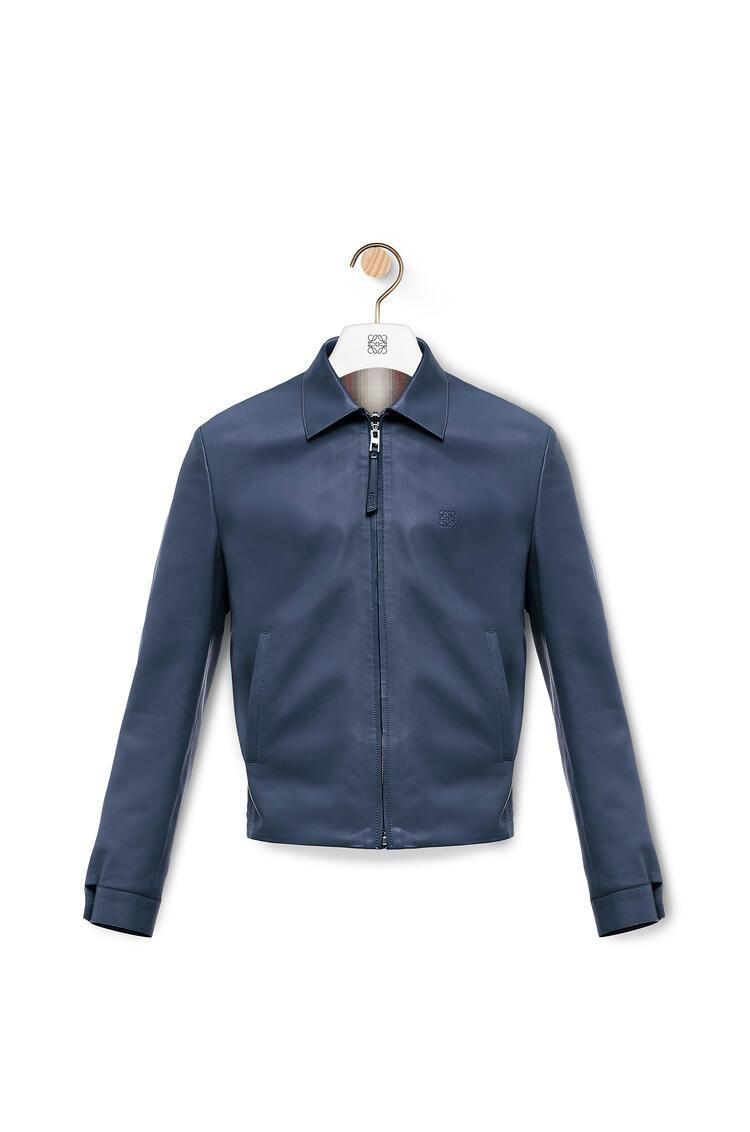 LOEWE Reversible Zip Blouson Navy Blue pdp_rd