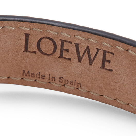 LOEWE Jeweled Bracelet Dark Brown front