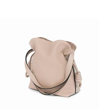 LOEWE Flamenco Knot Small Bag Ash front