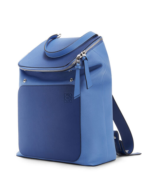 LOEWE Mochila Goya Azul Pacifico/Azul Seaside all