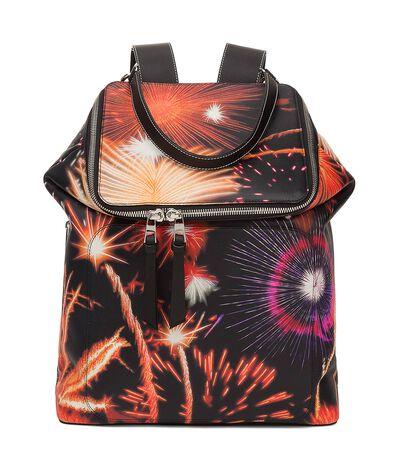 LOEWE Goya Fireworks Backpack Multicolor front