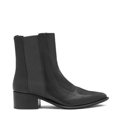 LOEWE Chelsea Boot 40 Negro front