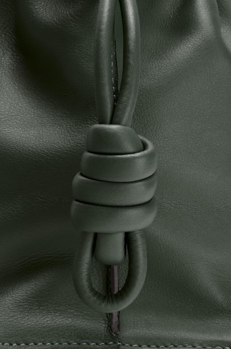 LOEWE Flamenco clutch in nappa calfskin Vintage Khaki pdp_rd