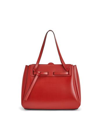 LOEWE Lazo Shopper 胭脂红 front