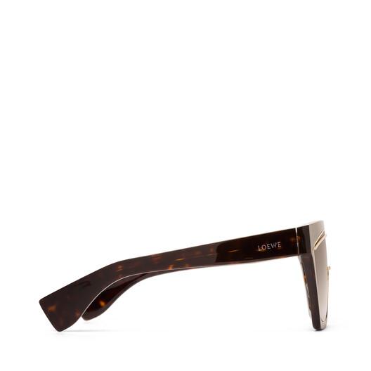 LOEWE Gafas Mascara Havana Oscuro/Marron Degradado front
