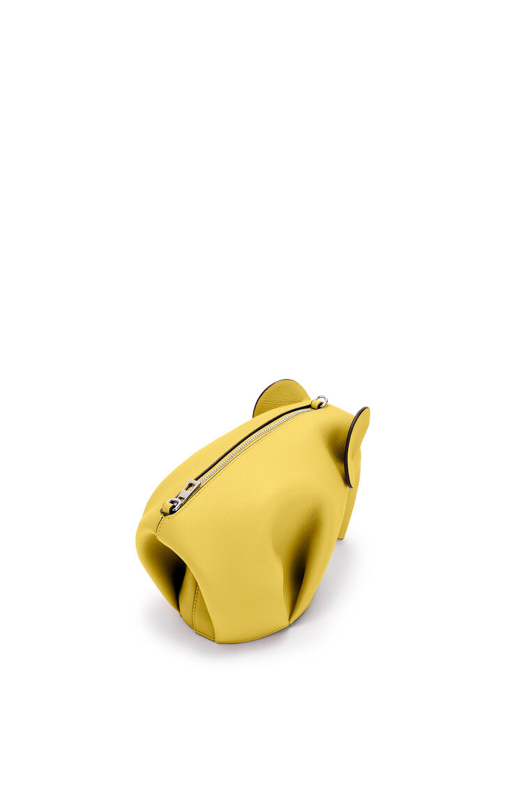 LOEWE Mini Elephant bag in classic calfskin Yellow pdp_rd