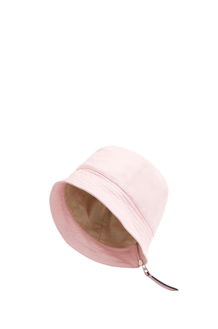 LOEWE Bucket Hat In Nappa Calfskin Icy Pink pdp_rd
