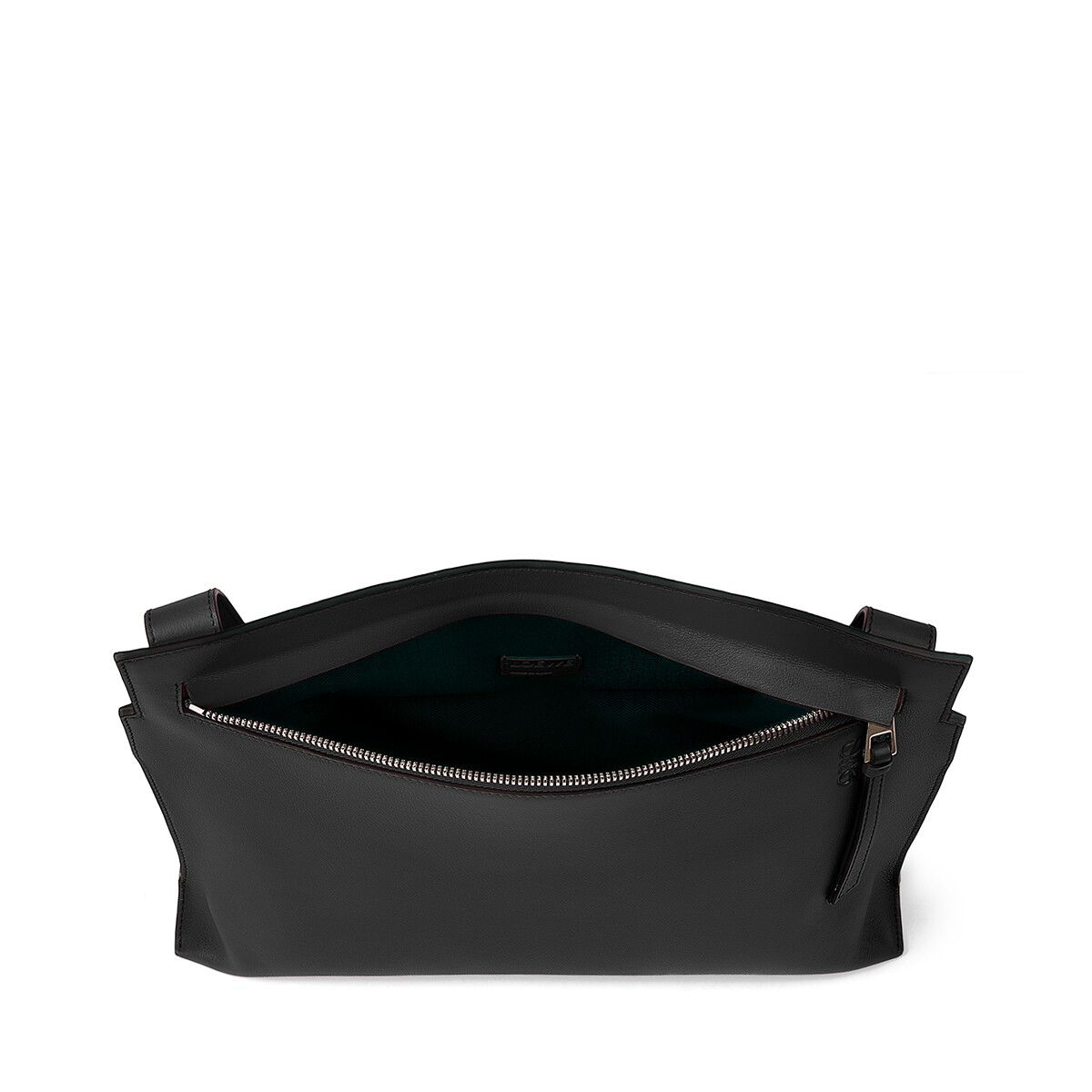 LOEWE T Messenger Bag Black front